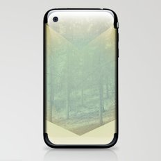 Chevron Forest iPhone & iPod Skin