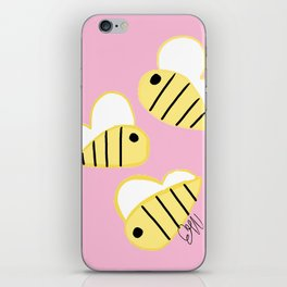Buzz Buzz Bees iPhone Skin