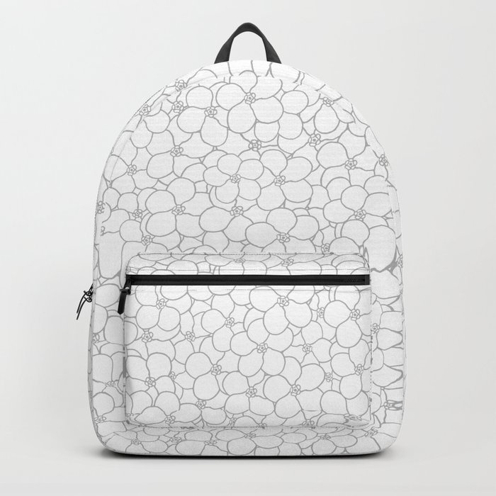 Forget Me Knot Natural Backpack