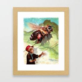 BumbleFreeze Framed Art Print