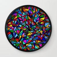 soul Wall Clocks featuring Soul by Erin Jordan