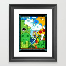 Shroom Kingdom Framed Art Print
