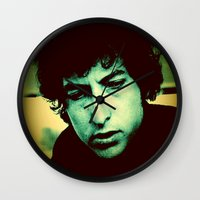dylan Wall Clocks featuring Dylan by SLIDE