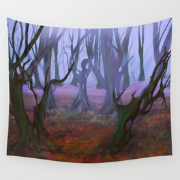 Petrified Willows Wall Tapestry