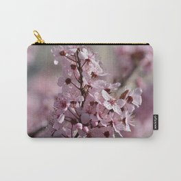 Spring Pink Cherry Blossom Flowers Carry-All Pouch