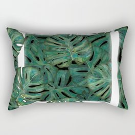 Square Between the Leaves Rectangular Pillow