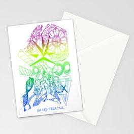 ALL LIGHT WILL FALL - New Era design  Stationery Cards