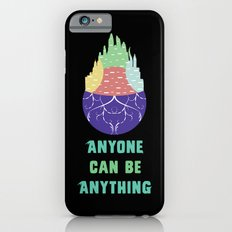 Zootopia - Anyone Can Be Anything [BLACK] Slim Case iPhone 6s