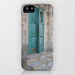 Turquesa iPhone Case