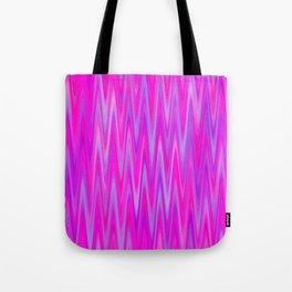 WAVY #1 (Purples, Violets & Fuchsias) Tote Bag
