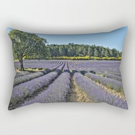 Lavender fields, Provence, France Rectangular Pillow