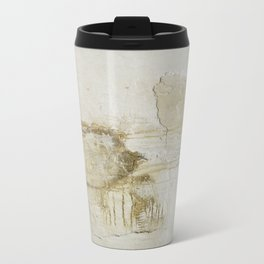 gold vain Travel Mug
