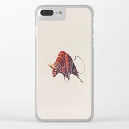 BULL Clear iPhone Case