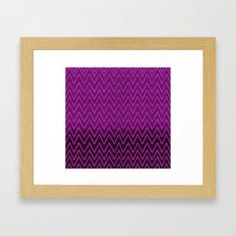 ▲zig zag=zig zag▲ Framed Art Print