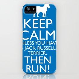 keep calm... unless... iPhone Case