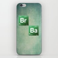 chemistry iPhone & iPod Skins featuring BrBa chemistry by Nxolab