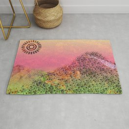 Mountain Series - Day-break Rug