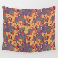 rave Wall Tapestries featuring Rave from nineties by Saprykinandrey