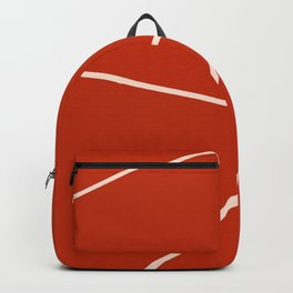 Tennis court gravel Backpack