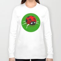 ladybug Long Sleeve T-shirts featuring LADYBUG by Ken Forst