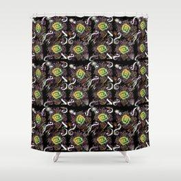 Wind 07 Shower Curtain