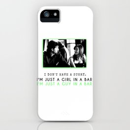 GREY'S ANATOMY - MERDER - I don't have a story... iPhone Case