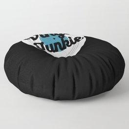 Vinyl Junkie Turntable Record Player 33 RPM Music Floor Pillow