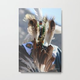 Indian Man Metal Print