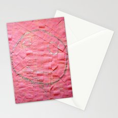 Smile on a pink toilet paper Stationery Cards