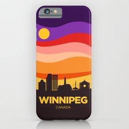 Winnipeg (Autumn) iPhone Case