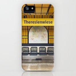 Munich U-Bahn Memories - Theresienwiese iPhone Case