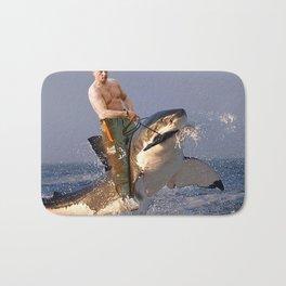 Vladimir Putin Funny Meme Bath Mat