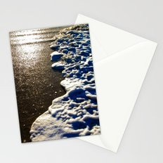 Golden Waves Stationery Cards