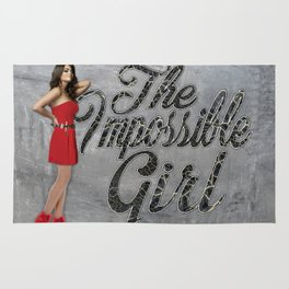 The Impossible Girl Rug