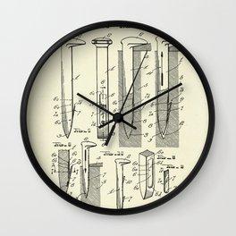 Railroad Spike-1950 Wall Clock