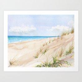 Dunes #2 Art Print