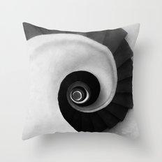 Minimal B&W IV Throw Pillow