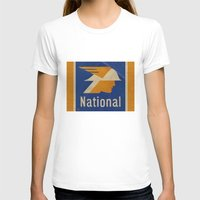 the national T-shirts featuring National Logo by Bruce Stanfield