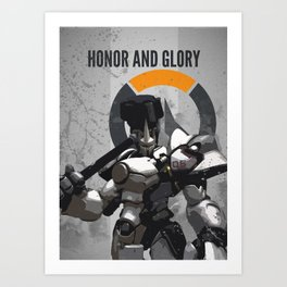 Honor and Glory Art Print