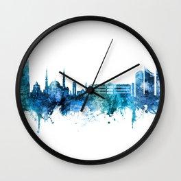 Beirut Lebanon Skyline Wall Clock