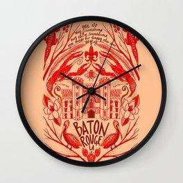 Baton Rouge Wall Clock