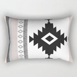 Pueblo in Pink Rectangular Pillow