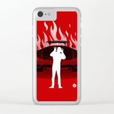 Christine (Red Collection) Clear iPhone Case