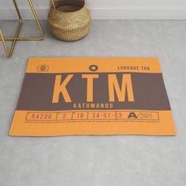 Luggage Tag B - KTM Kathmandu Nepal Rug