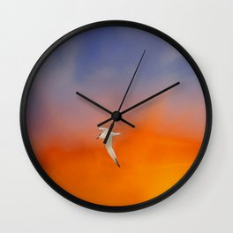 Edge of Sunset Wall Clock
