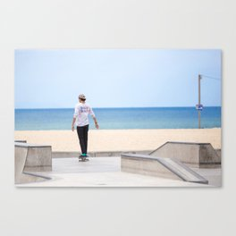 Blue Life Canvas Print