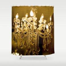 golden light::charleston Shower Curtain
