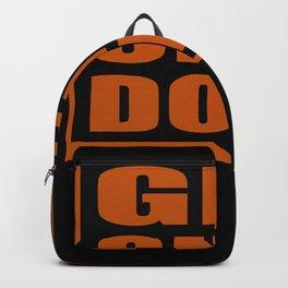 Get Shit Done Motivation Backpack