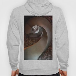 Spiral staircase in an old lighthouse Hoody