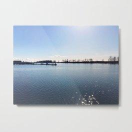 Beautiful Steveston - Fraser River Metal Print